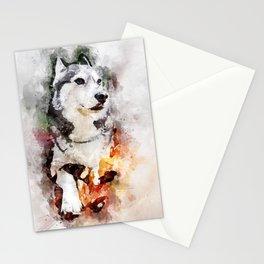 Tika'ani our Siberian Husky Stationery Cards