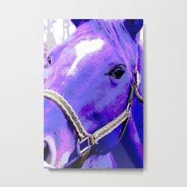 Heart Horse Metal Print