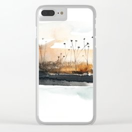 Release to Slumber Clear iPhone Case