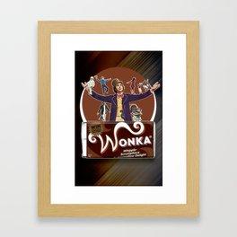 Willy Wonka - Gene Wilder Framed Art Print