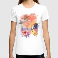 aloha T-shirts featuring aloha by ulas okuyucu