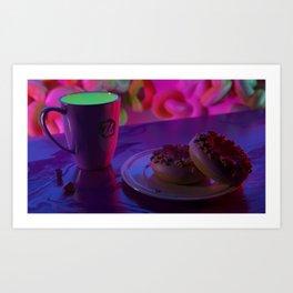 doughnut aesthetics Art Print