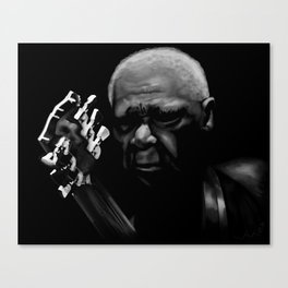 B.B. King Canvas Print