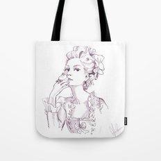 Marie Antoinette - Pen/Ink Tote Bag