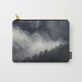 """Memories..."" Into the foggy mountains Carry-All Pouch"