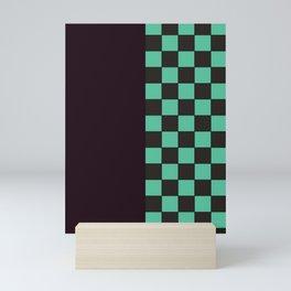Kamado Tanjiro Pattern (Haori) Mini Art Print