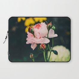 Flower in the wind Laptop Sleeve