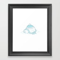 Cold Winters Framed Art Print