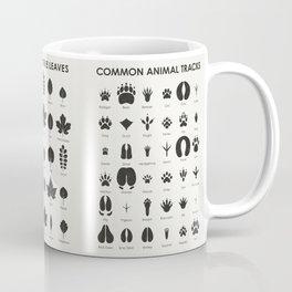 Common Animal Tracks Coffee Mug
