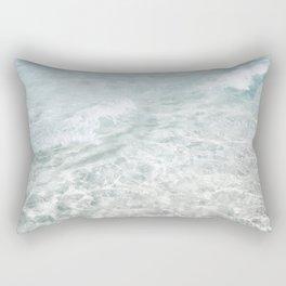 Translucent Waves Rectangular Pillow