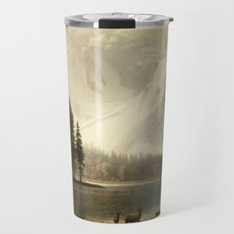 Albert Bierstadt Estes Park Colorado Whyte's Lake Travel Mug