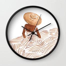 Madame Fleur Wall Clock