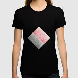 Concrete and Pink T-shirt