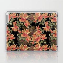 Yellow roses . Imitation glass .3D/ Laptop & iPad Skin