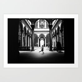 Photos of Ghosts Art Print