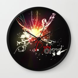 Dying City Wall Clock