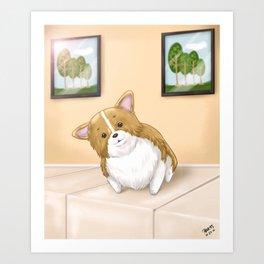 Pose and Smile! Art Print