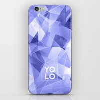 sayings iPhone & iPod Skins featuring Dreams of YOLO Vol.3 by HappyMelvin