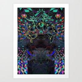 Guides Art Print