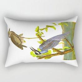 Yellow-Crowned Heron Rectangular Pillow