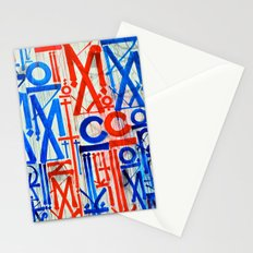 Abstract Urban Mural Stationery Cards