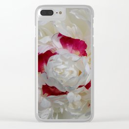 In Full Bloom Clear iPhone Case