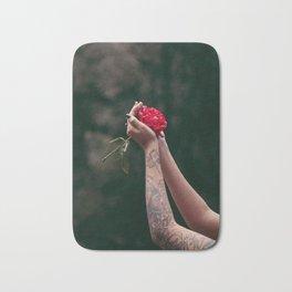 Rose Tattoo Bath Mat