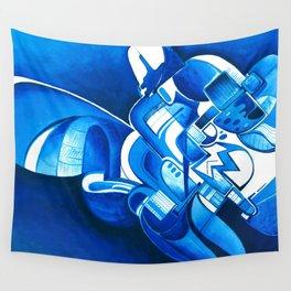#22 – dipinto di blu… Wall Tapestry