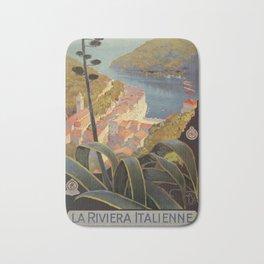 Portofino Italian Riviera Travel Bath Mat