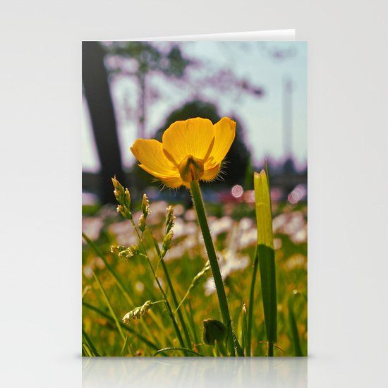 Buttercup beauty Stationery Cards