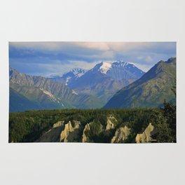 Northern Chugach Mountains Rug