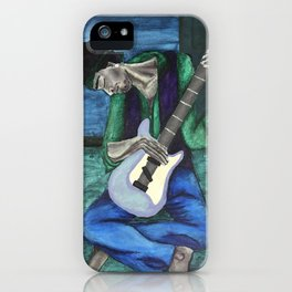 Jimi's Old Guitar iPhone Case
