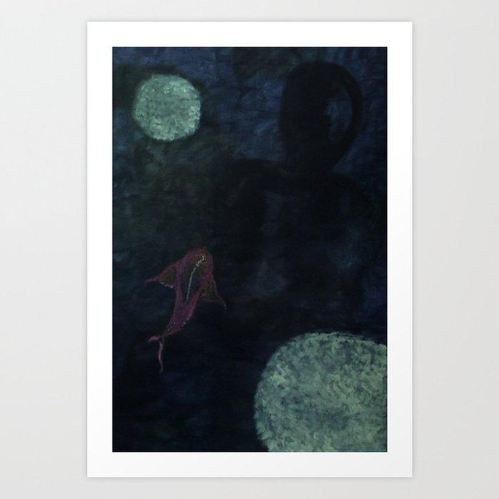 """""""Stranger Abyss"""" Art Print"""