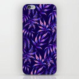 Brooklyn Forest - Purple iPhone Skin