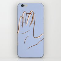 spock iPhone & iPod Skins featuring mr. spock by gazonula