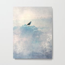 HEAVENLY BIRD I Metal Print