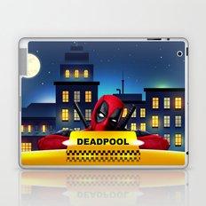 Dead Pool Taxi Night Laptop & iPad Skin