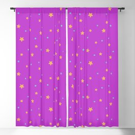 Outer Space - Pink Starry Sky Blackout Curtain