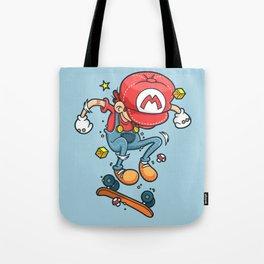 Skate Mario Tote Bag
