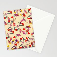 watercolour geometric shapes Stationery Cards