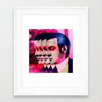 drunk Framed Art Prints featuring Drunk by Cs025