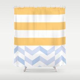 BEACHSTRIPES Shower Curtain
