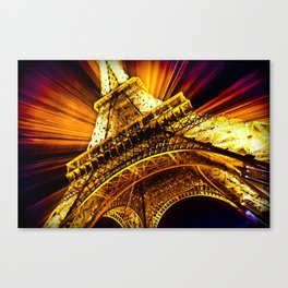 SUPERNOVA EIFFEL II Canvas Print
