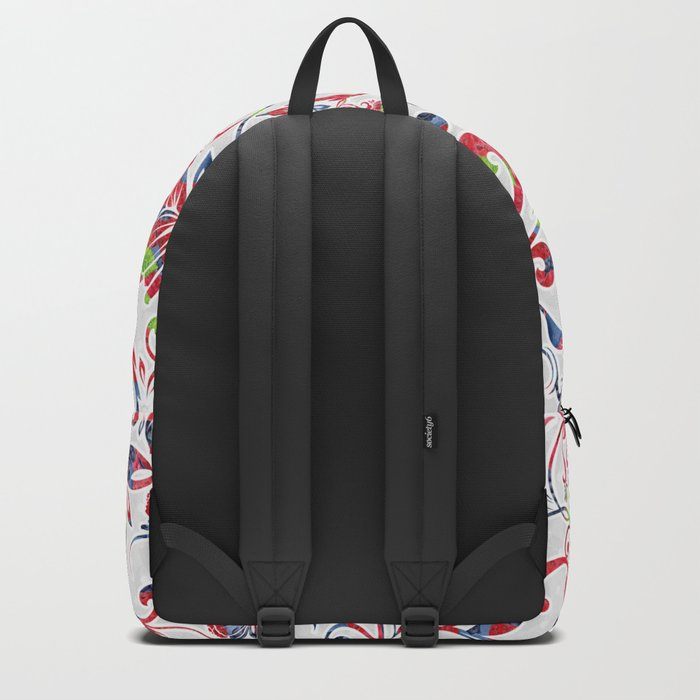 Berries Pattern 07 Backpack