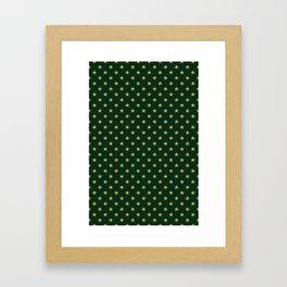 Pattern Stars Framed Art Print
