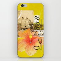 agnes cecile iPhone & iPod Skins featuring Agnes & Annie by Shelley Kommers