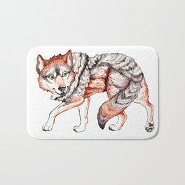 Mexican Gray Wolf - Stalk Bath Mat