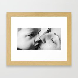 Love is... Nourishment Framed Art Print