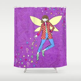 Erika Fairy Shower Curtain