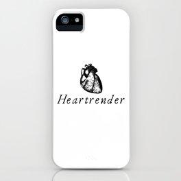 Heartrender iPhone Case